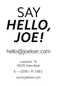 Plakat_Johannes-Loer_say-hello-joe_03
